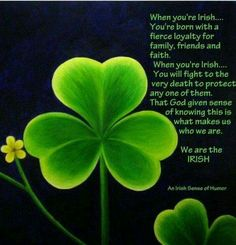PROUD TO BE IRISH