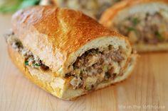 stuffed french bread recipes