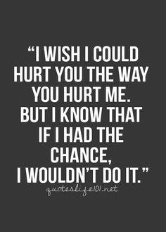 Hurting