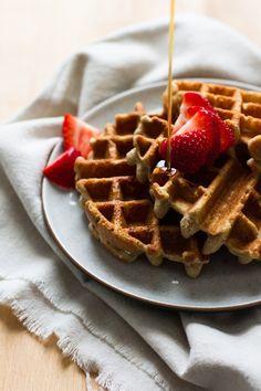 basic buckwheat waffles // edible perspective