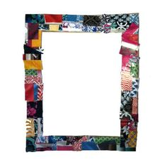 Elmer's - Recycled Collage Photo Frame Create a colorful collage photo frame with your old magazines and newspapers.
