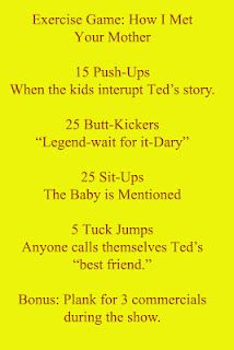 How I Met Your Mother workout... Yes! Hahaha
