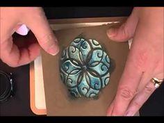 ▶ Spellbinders Stenciling Technique Tutorial - YouTube