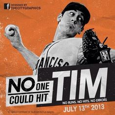 No Hitter for Lincecum