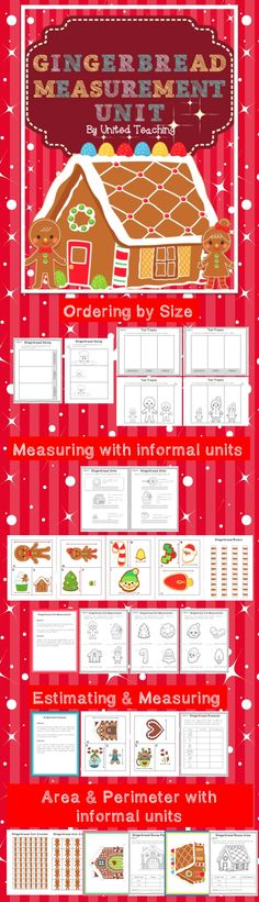 The Gingerbread Measurement Unit >> Activities for students to practise measurement using informal units.