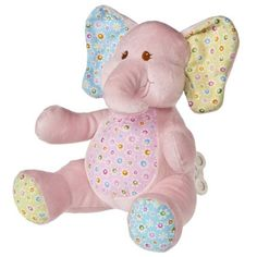 """Mary Meyer Ella Bella 10"""" Elephant Wind Up Musical by Mary Meyer. $19.52. From the Manufacturer                Whether for your own little one or to give as a gift, Mary Meyer is always a perfect choice. Based in Vermont, Mary Meyer is an environmentally conscious company, including receiving 100% of its energy from the renewable energy of Central Vermont Power Service's Cow Power Program. Recipients of multiple Oppenheim and Toy of the Year awards, Mary Meyer has been..."""