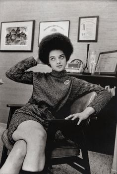 Kathleen Neal Cleaver- Former press secretary & spokeswoman of the Black Panther Party  Yale Law School grad  and current professor.