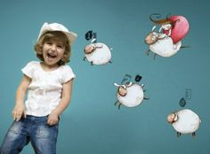 Counting Sheep - Wall Decals