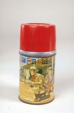 """The Adventures of Wild Bill Hickok"" Thermos Bottle"