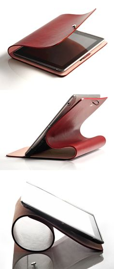 Leather iPad Cover
