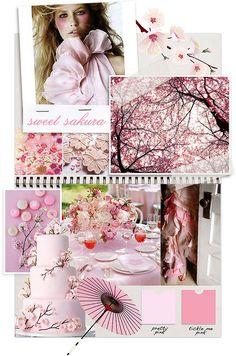sweet sakura - cherry blossom wedding inspiration