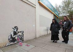 Banksy London #StreetArt  #UrbanArt