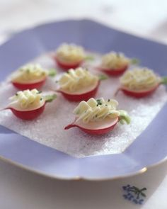 Radishes with Chive Butter Recipe