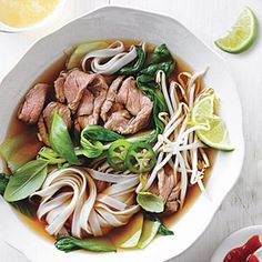 Beef Noodle Soup | MyRecipes.com