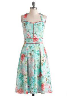 Garden Arty Dress, #ModCloth