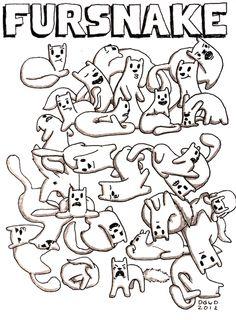 Ferret Art by Monday Bear