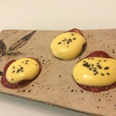 """Scrambled #eggs with ham""""-sous vide eggs aereated with siphon ..."""