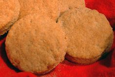 Whole wheat sour cream biscuits