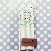 cute cake pop sticks and mini cake push up containers sold here