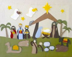 barefoot in the kitchen: my nativity advent