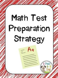 Math Test Prep Strategy: A great test preparation strategy focused on cooperative learning and student engagement. This product provides detailed step by step explanations on how to quickly set up math stations for any grade and any math concept. An excellent way to study for state testing, semester exams or unit tests.