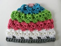 Crochet skull beanie pattern. I would choose different colours, but this pattern is brilliant :-) I want this pattern!!!!
