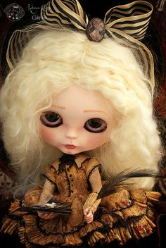 Unfathomable glance by Rebeca Cano ~ Cookie dolls, via Flickr