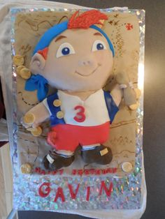 Cubby of the Neverland Pirates Cake