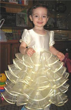 Сшить платье из капрона для девочки 88