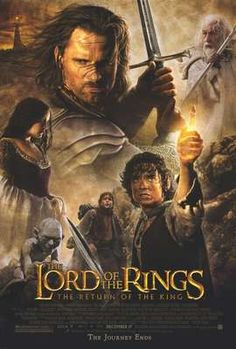 The Lord of the Rings; The Return of the King.  Love, love, love it!!!