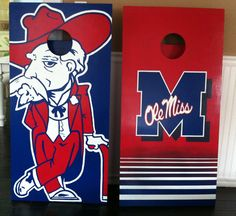 Ole Miss boards for Ole Miss fans! One of a kind and will never be repeated. Bahamaboards.com