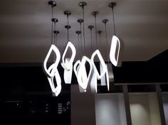 Love the new integration of LEDs into decorative lighting! Wonderful job Tech Lighting, 2014 Dallas Lighting Market