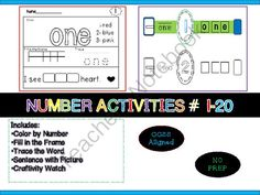 Number Activities (Craftivity) MOST Downloaded in my store!! Enter for your chance to win.  Number Activities Set Craftivity Common Core  (33 pages) from LearningandGrowing on TeachersNotebook.com (Ends on on 9-1-2014)  Hi, This is item preview/freebie sample has been the most downloaded item in my store. As a new seller this has really motivated me to continue my journey into creating products for TeachersNotebook. Join the giveaway to receive the complete set. Thank You!