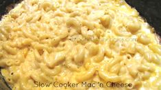 Ultra Creamy Mac 'n Cheese in the Slow Cooker!