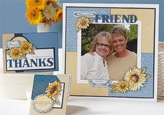 May 2012 Stamp of the Month - Friendship Bouquet - $17.95.  ** I still have some of this stamp set if you missed out. **