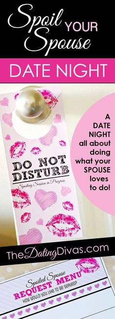This date night is all about doing what your SPOUSE loves to do! This is perfect for his birthday or an anniversary! www.TheDatingDivas.com