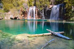 Hanging Lake, Glenwood Springs. Best part of summer in Colorado? Hiking to places like this.