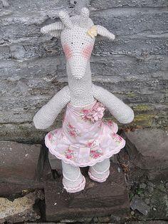 Tilda in crochet by erdbeerdiamant