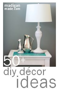 Check out all of these simple and elegant DIY home decor ideas at madiganmade.com