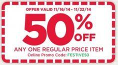 Michael's: Save 50%