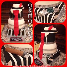 Harlem nights themed cake birthday cakes picture