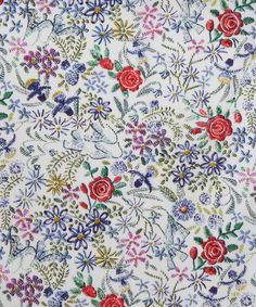Claudine B Tana Lawn, Liberty Art Fabrics.