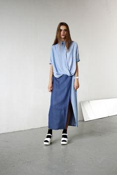jean, blue, shirt