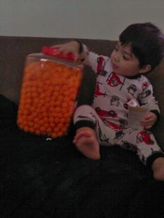 Sebastian and his cheeseballs!