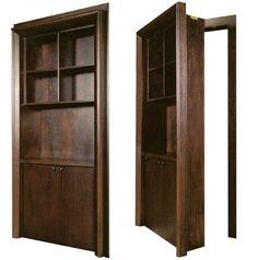 diy tutorial for hidden door bookcase cool fo
