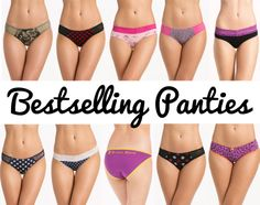 Give your delicates drawer a revamp! We have gathered the Best-Selling Panties for you at  http://prettysecrets.com/lingerie/panties/buy-2-get-1-free