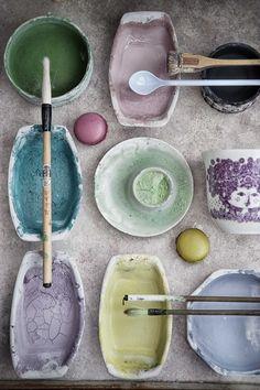 pottery paints