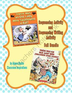 Boo-tiful deal!There Was an Old Lady Fall Activity Giveaway!! Enter for your chance to win 1 of 3.  There Was an Old Lady Fall Sequencing and Writing Activity (14 pages) from Classroom Inspirations on TeachersNotebook.com (Ends on on 10-31-2014)  Enter for your chance to win There Was an Old Lady Fall Sequencing activity.  It is the perfect time of year for a little fun!