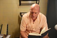 Hank's epiphany.... on the toilet!