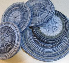 great use of old denim #upcycle